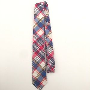 👗 J. Crew Men's Plaid Necktie